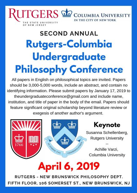 2nd Annual RU-CU Undergraduate Conference (updated 9.21.18)