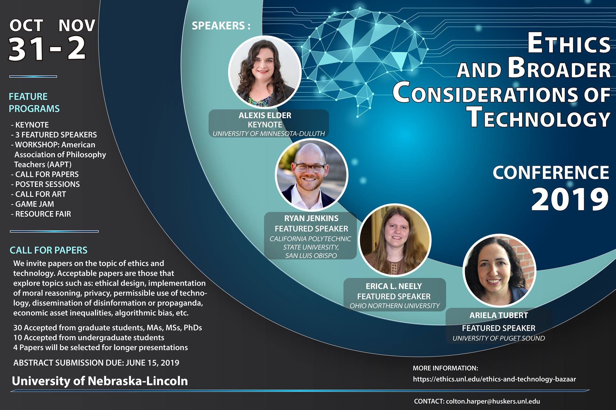2019 Fall Ethics and Technology conference